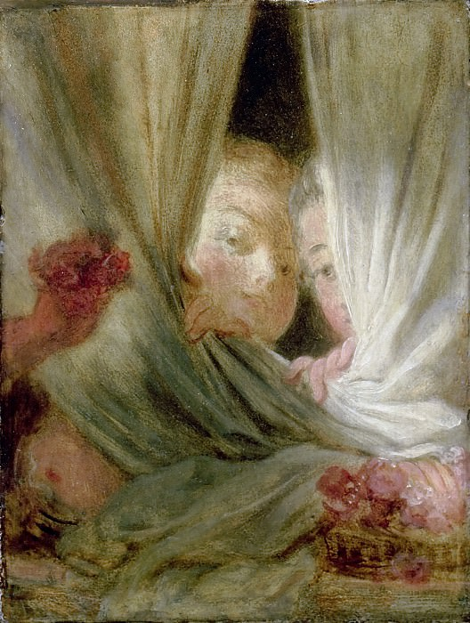 The Curious. Jean Honore Fragonard