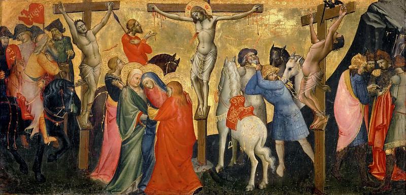 Lorenzo Monaco -- Crucifixion. Part 3 Louvre