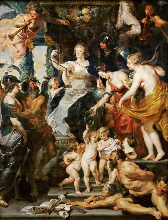 Счастье регенства. Питер Пауль Рубенс