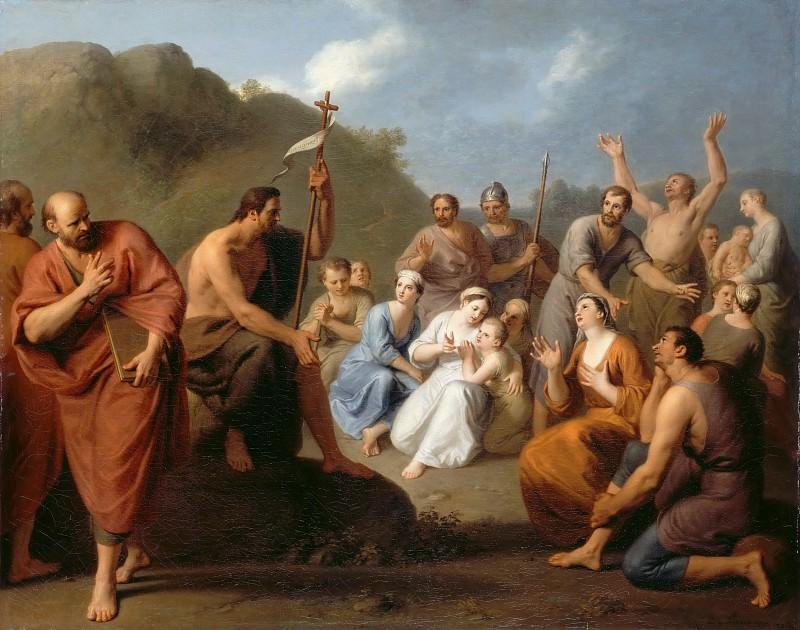 Фаванн, Анри-Антуан де (1668 Лондон - 1752 Париж) -- Проповедь Иоанна Крестителя. часть 3 Лувр