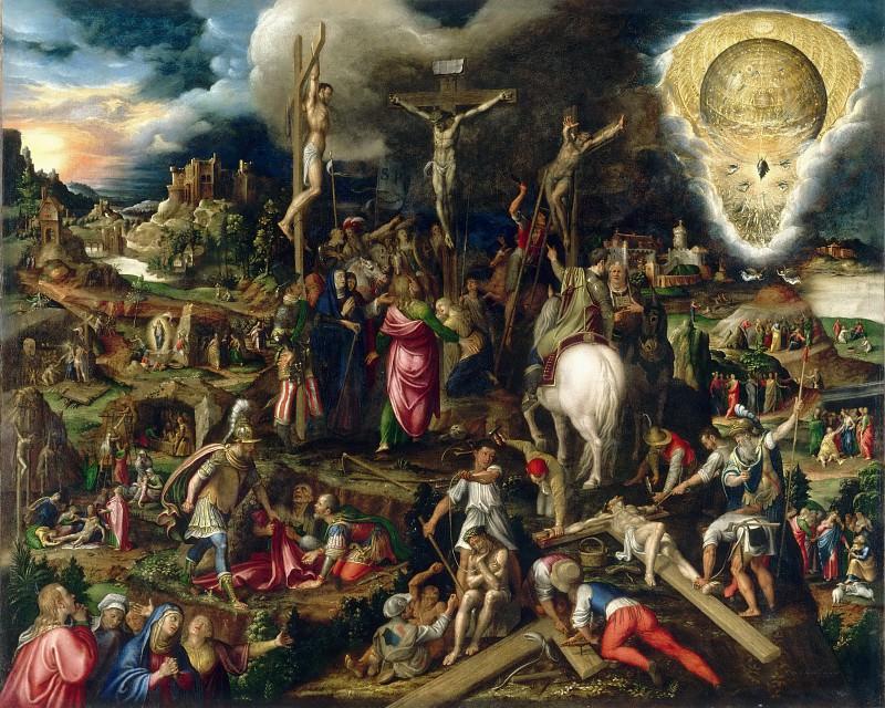 Кампи, Антонио (Кремона 1523-1587) -- Страсти Христовы. часть 3 Лувр
