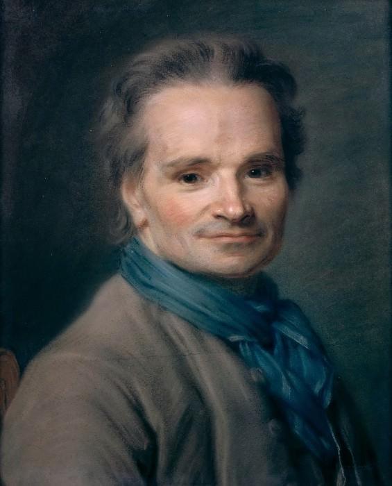 Maurice-Quentin de La Tour -- Portrait of Jean-Baptiste Lemoyne, Sculptor. Part 3 Louvre