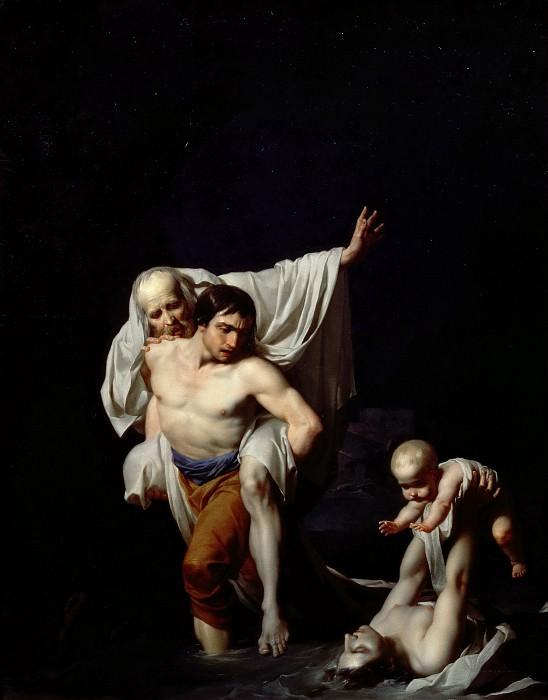 Реньо, барон Жан-Батист (Париж 1754-1829) -- Потоп. Part 3 Louvre
