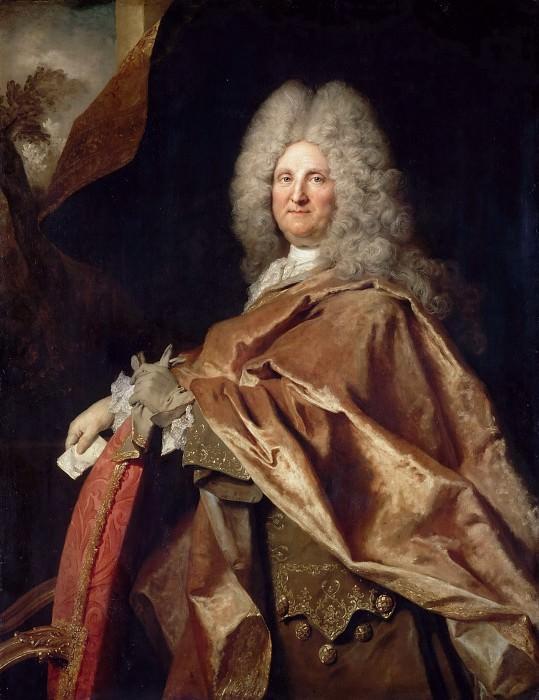 Nicolas de Largillière -- Portrait of a Man, Jacques de Laage, King's Secretary ?. Part 3 Louvre