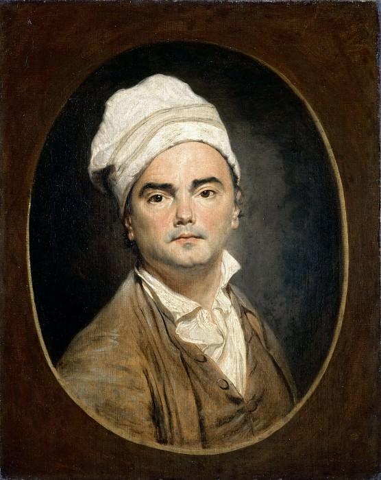 Jean-Antoine Julien -- Self Portrait (Portrait of a Man in a Bonnet). Part 3 Louvre