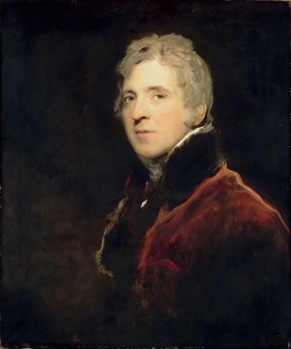 Thomas Lawrence -- Portrait of a Man. Part 3 Louvre