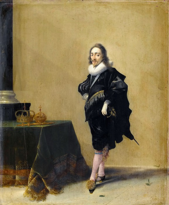 Hendrik Pot -- Charles I, King of England. Part 3 Louvre