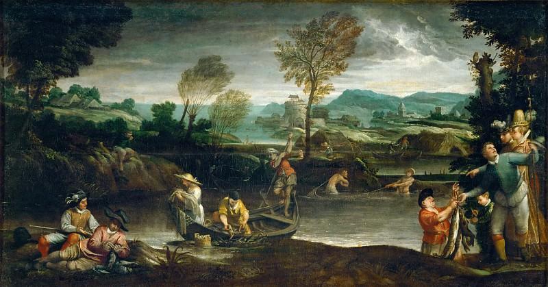Annibale Carracci (1560-1609) -- Fishing. Part 3 Louvre