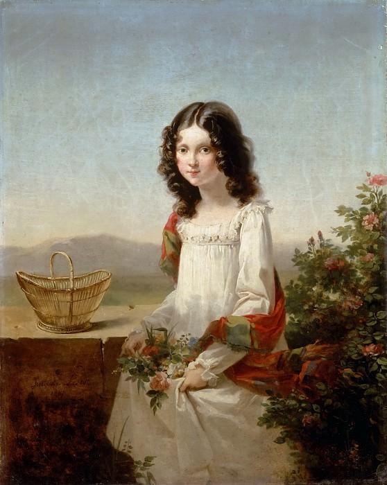 Antoine Cécile Hortense Haudebourt-Lescot -- Lise Aubin de Fougerais. Part 3 Louvre