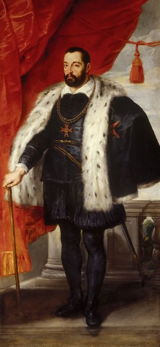 Portrait of Francesco I de Medici, Grand Duke of Tuscany. Peter Paul Rubens