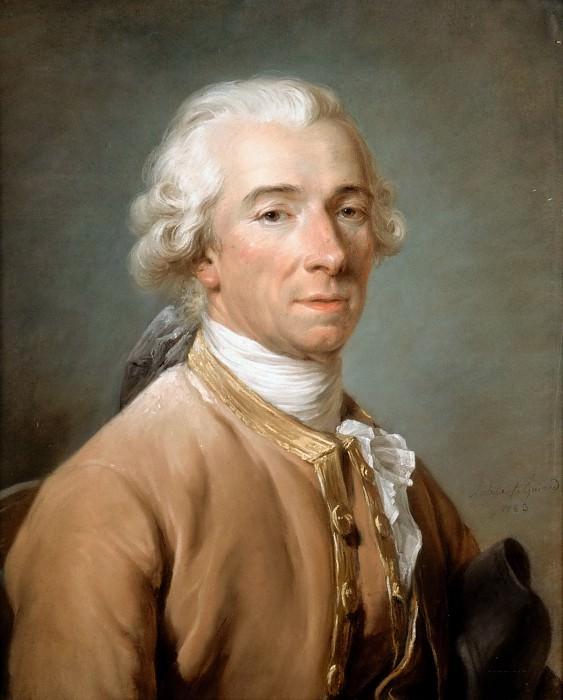 Adélaïde Labille-Guiard -- Portrait of Jacques Antoine Beaufort. Part 3 Louvre