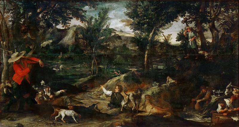 Annibale Carracci (1560-1609) -- Hunt. Part 3 Louvre