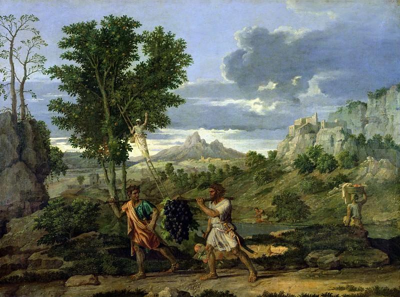 Пуссен, Никола (1594 лез-Андели - 1665 Рим) -- Четыре сезона - Осень. Part 3 Louvre