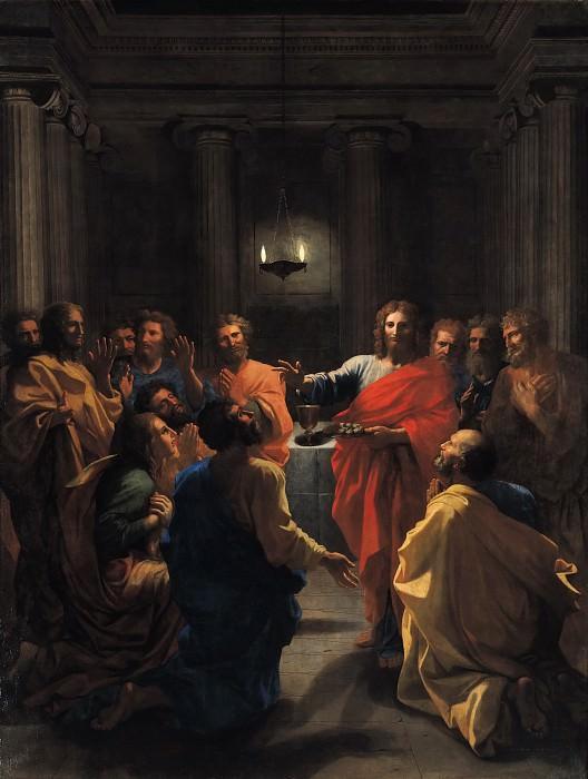 Пуссен, Никола (1594 лез-Андели - 1665 Рим) -- Таинство евхаристии. Part 3 Louvre