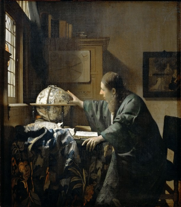 The Astronomer. Johannes Vermeer