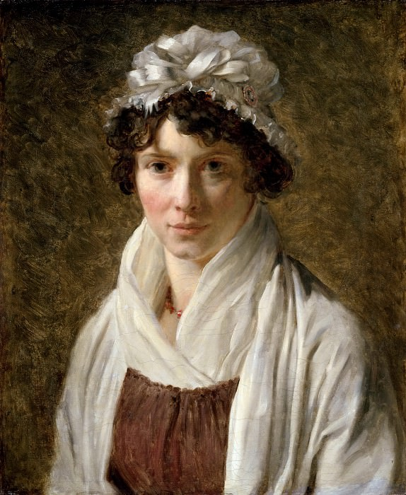 Baron François Gérard -- Madame Lecerf, née Gérard, the Artist's Cousin. Part 3 Louvre