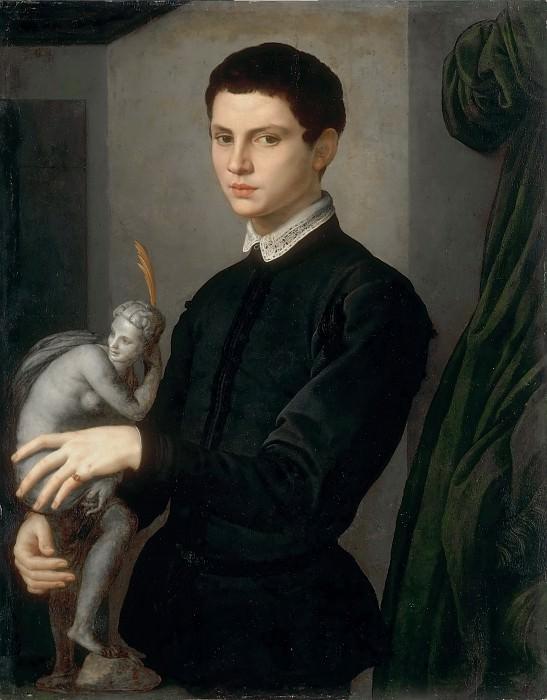Agnolo Bronzino -- Portrait of a Sculptor (Portrait of Baccio Bandinelli). Part 3 Louvre