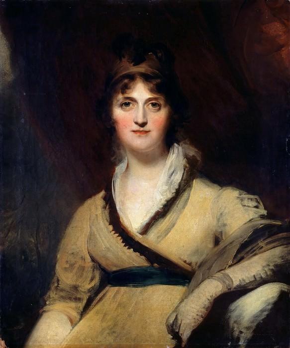 Thomas Lawrence -- Portrait of Countess Inchiquin (Comtesse d'Inchiquin). Part 3 Louvre