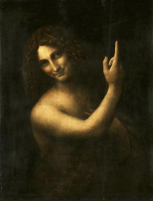 Леонардо да Винчи (1452 Винчи - 1519 замок Сен-Клу близ Амбуаза) -- Иоанн Креститель. часть 3 Лувр