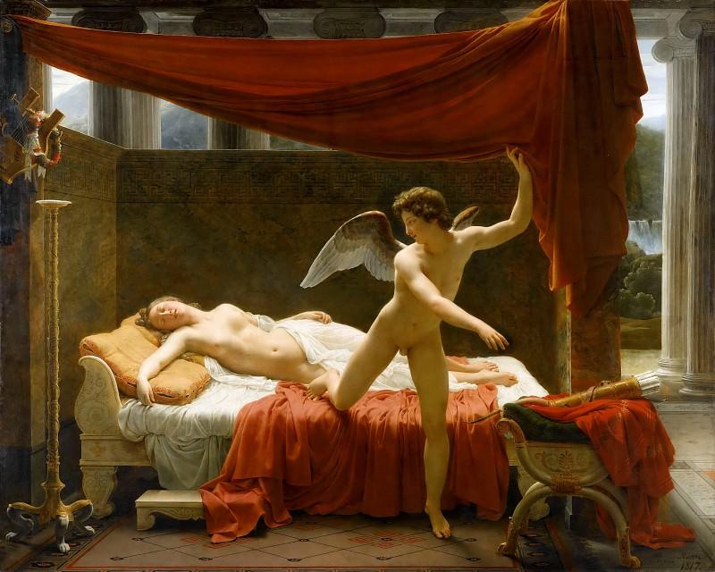 Пико, Франсуа-Эдуар (1786-1868) -- Амур и Психея. часть 3 Лувр