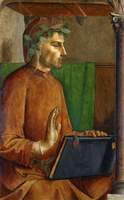 Joos van Wassenhove and Pedro Berruguete -- Dante Alighieri. Part 3 Louvre