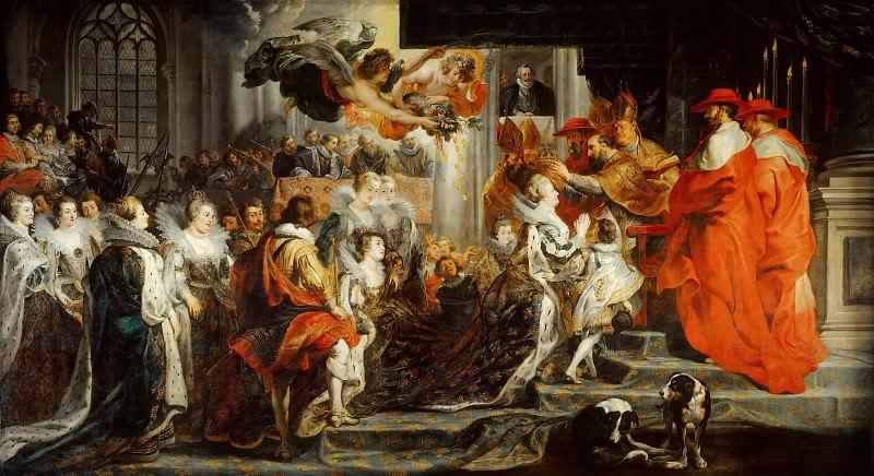 Coronation of Marie de Medici. Peter Paul Rubens