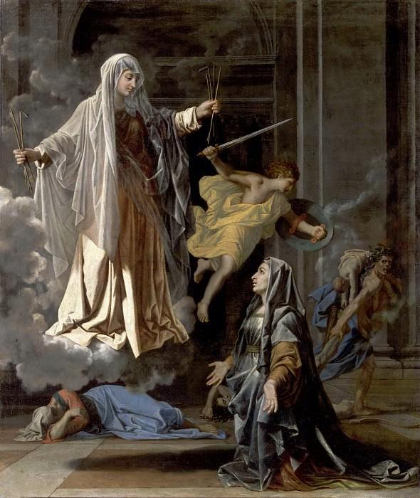 Saint Francesca Romana. Nicolas Poussin