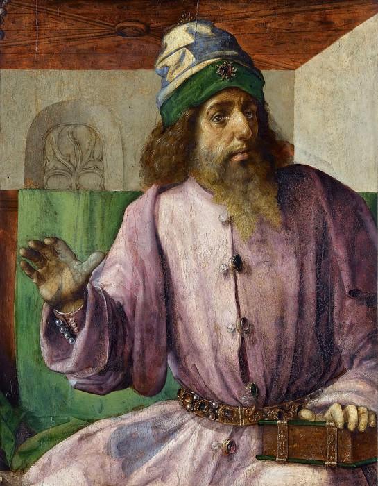 Вассенхове, Иос ван (Юстус Гентский) (работал в 1460-1480) -- Аристотель. часть 3 Лувр