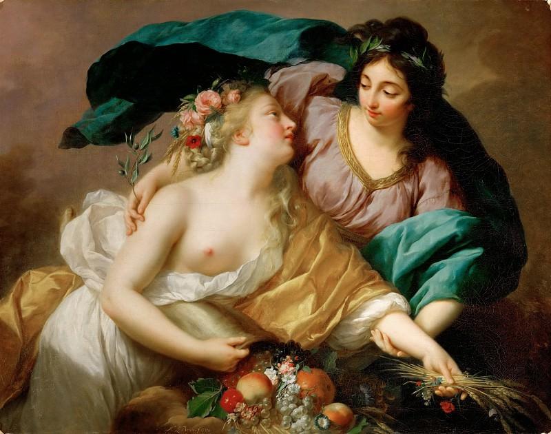 Виже-Лебрен, Луиза-Элизабет (Париж 1755-1842) -- Мир и Изобилие. часть 3 Лувр
