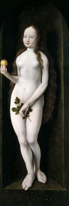 Joos van Cleve -- Eve. Part 3 Louvre