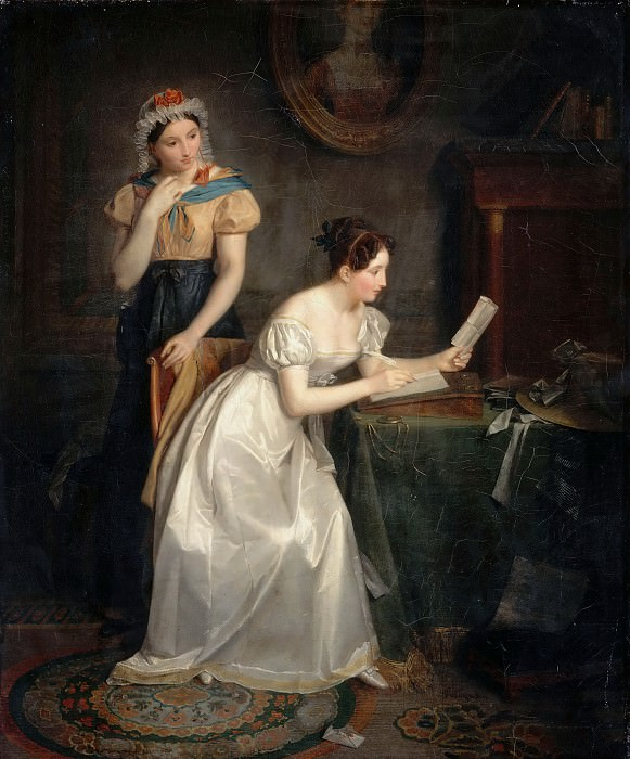 Jean Augustin Franquelin -- Response to the Letter. Part 3 Louvre