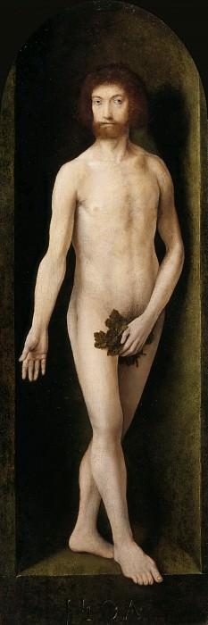 Joos van Cleve -- Adam. Part 3 Louvre