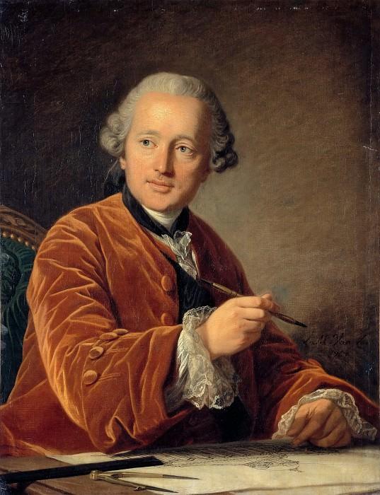 Louis Michel van Loo -- Germain Soufflot, architect. Part 3 Louvre