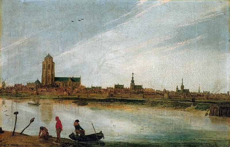 Вельде, Эсайас ван де (ок1591-1630) - Вид на Зирикзе. Часть 2