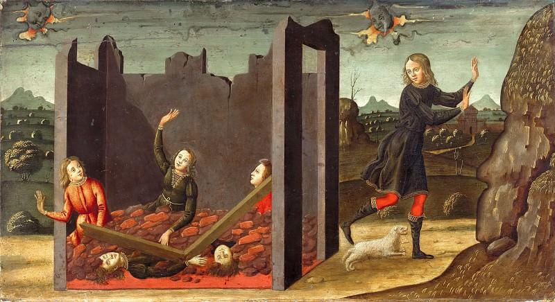 Флорентийская школа (15век) - История Иова. Часть 2