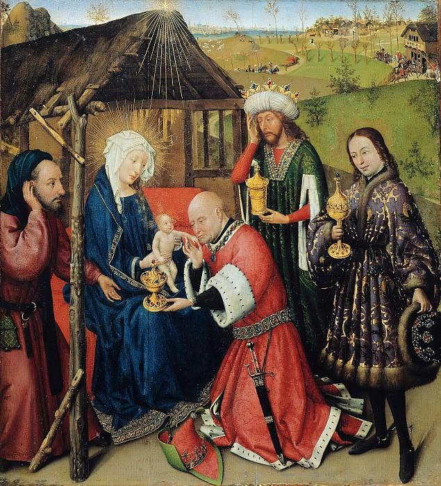 Даре, Жак (ок1403-1470) - Поклонение волхвов. Часть 2