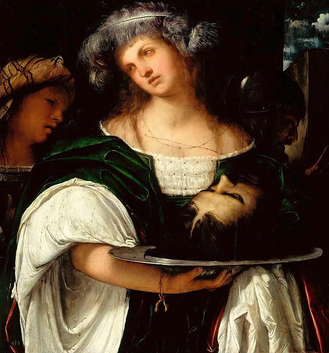 Girolamo Romanino (c.1484-c.1566) - Salome with the Head of John the Baptist. Part 2