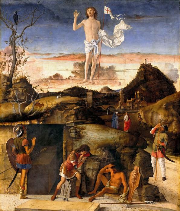 Giovanni Bellini (c.1430-1516) - The Resurrection of Christ. Part 2