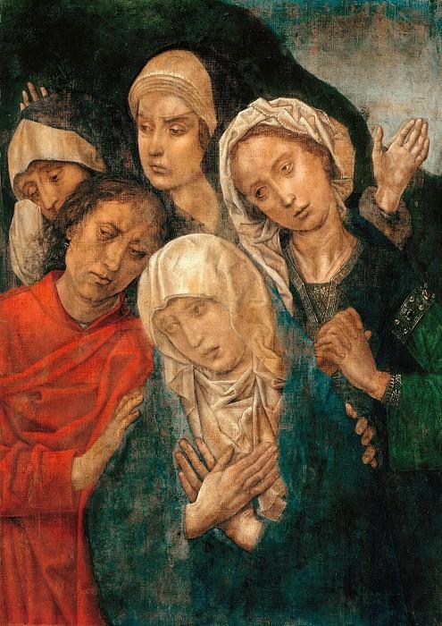 Hugo van der Goes (c.1425-1482) - The Lamentation of Christ. Part 2