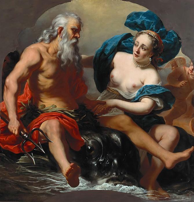 Ferdinand Bol (1616-1680) - Neptun and Amphitrite. Part 2