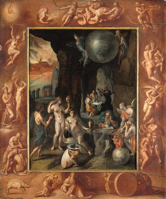 Frans II. Francken (1581-1642) - The Temptation of St. Anthony. Part 2