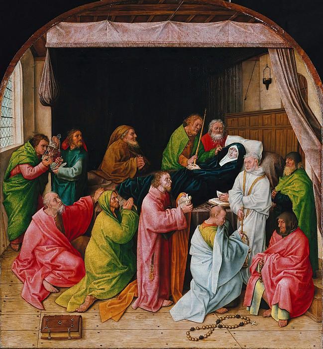Гус, Хуго ван дер (ок1425-1482) - Успение Богородицы. Часть 2