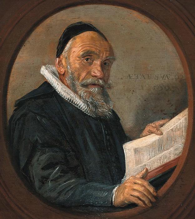 Халс, Франс (копия) - Проповедник Иоганн Акрониюс. Часть 2
