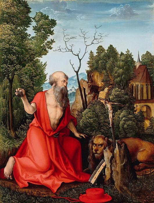 Hans Schaufelein (1480-85-ок1538) - Saint Jerome. Part 2