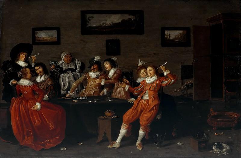 Пот, Хендрик (c.1585-1657) - Веселая компания в борделе. Часть 2