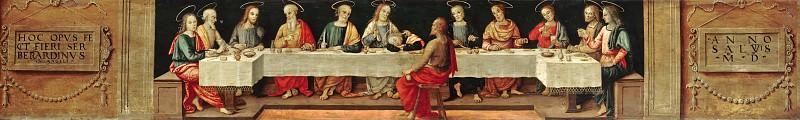 Giannicola di Paolo (c.1478-1544) - The Last Supper. Part 2