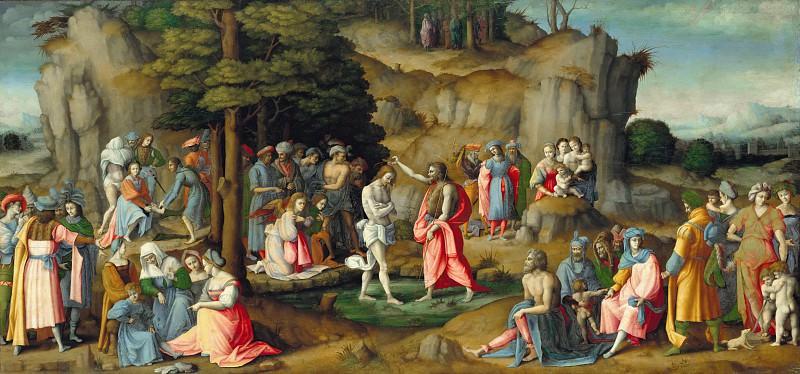 Баккьякка (Франческо Убертини)(1494-1557) - Крещение Христа. Часть 2