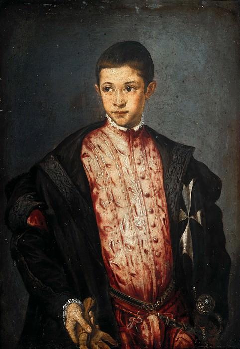 Francesco Salviati (1510-1563) - Ranuccio Farnese at the age of twelve years. Part 2
