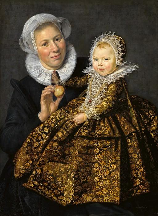 Халс, Франс (1582-83-1666) - Катарина Хофт с няней. Часть 2