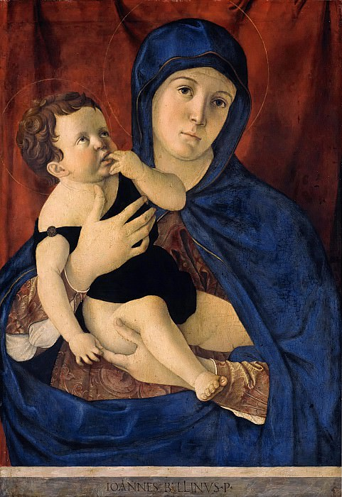Maria with the child. Giovanni Bellini